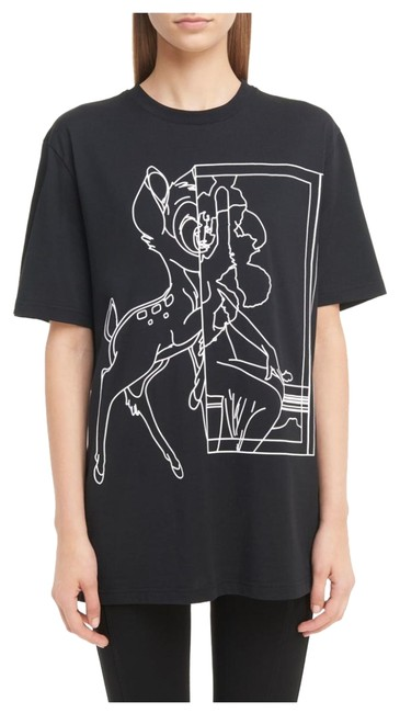 Givenchy Bambi Jersey Stencil T Shirt Black Image 0