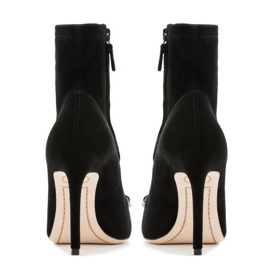 Sophia Webster Suede Fall Luxury Black Boots Image 2