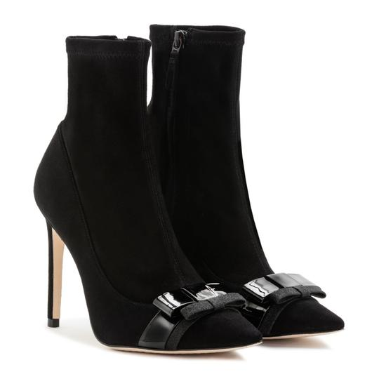 Sophia Webster Suede Fall Luxury Black Boots Image 4