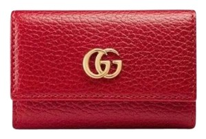 Gucci Marmont leather key holder case pouch