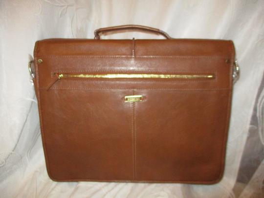 Hidesign Leather Briefcase Onm19 Laptop Bag Image 2