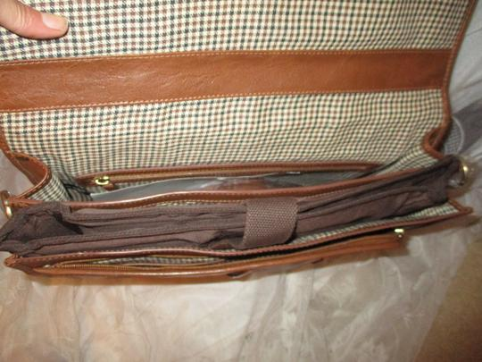 Hidesign Leather Briefcase Onm19 Laptop Bag Image 7