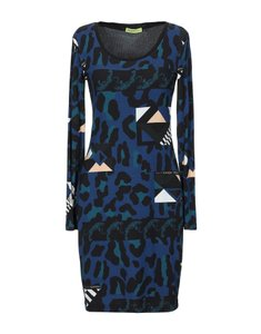 Versace Jeans Collection Italian Bodycon Designer Dress