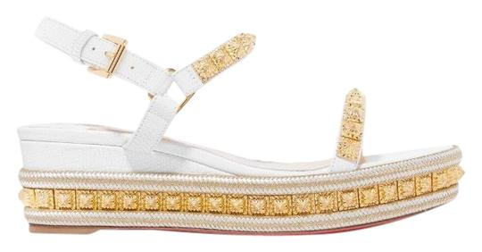 Preload https://img-static.tradesy.com/item/25759958/christian-louboutin-pyraclou-60-studded-sandal-wedges-size-eu-39-approx-us-9-regular-m-b-0-1-540-540.jpg