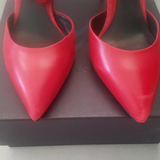 B Brian Atwood Red Pumps Image 3