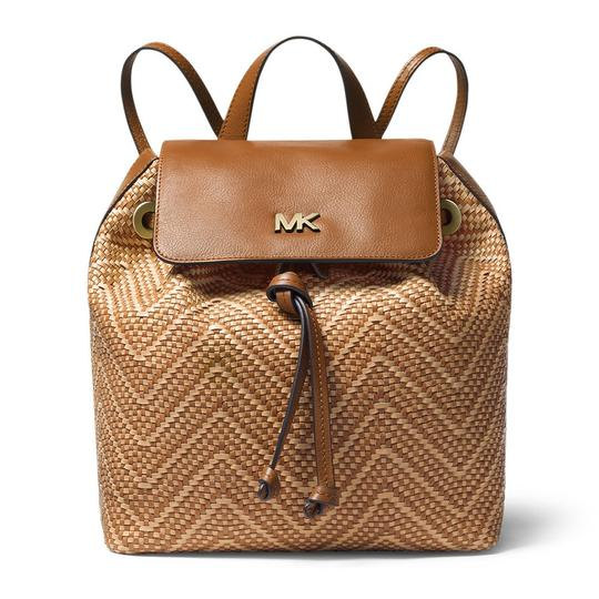 Preload https://img-static.tradesy.com/item/25760162/michael-kors-junie-medium-acornbutternut-leather-backpack-0-0-540-540.jpg