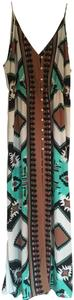 Multi Maxi Dress by Body Glove Cover Up Tribal Print Sleeveless