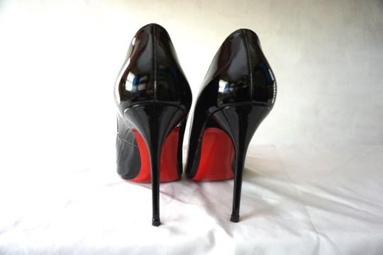 Christian Louboutin So Kate Pigalle Patent Black Pumps Image 2
