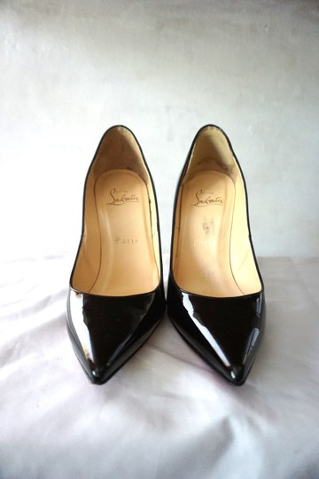 Christian Louboutin So Kate Pigalle Patent Black Pumps Image 6
