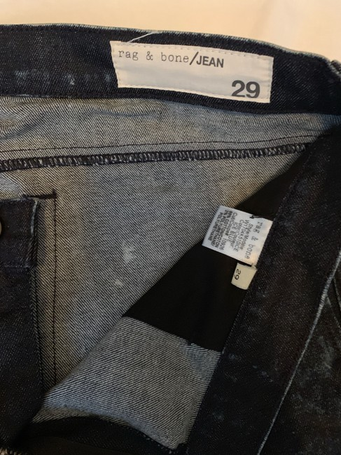 Rag & Bone/Jean Relaxed Fit Jeans-Distressed Image 1