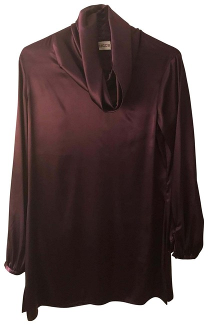 Preload https://img-static.tradesy.com/item/25760433/chico-s-purple-tunic-size-0-xs-0-1-650-650.jpg