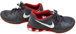 Nike gray / red Athletic