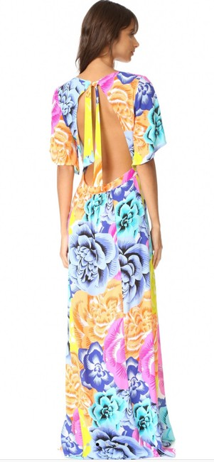 bright muticolor floral Maxi Dress by Kopper & Zink Image 1