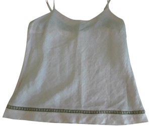 120% Lino Sleeveless Made In Italy Top pink