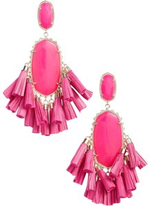 Kendra Scott Kendra Scott Pink Cristina Stone Tassel Earrings