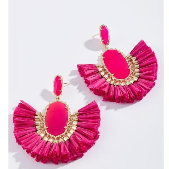 Kendra Scott Kendra Scott Pink Cristina Stone Tassel Earrings Image 1