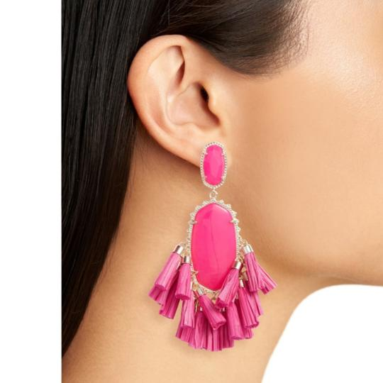 Kendra Scott Kendra Scott Pink Cristina Stone Tassel Earrings Image 2