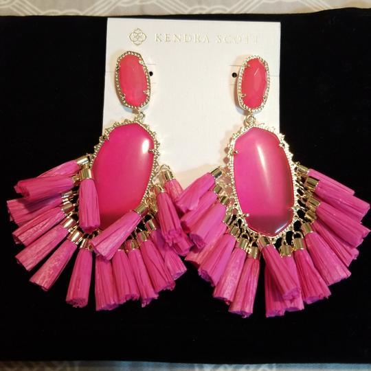 Kendra Scott Kendra Scott Pink Cristina Stone Tassel Earrings Image 3