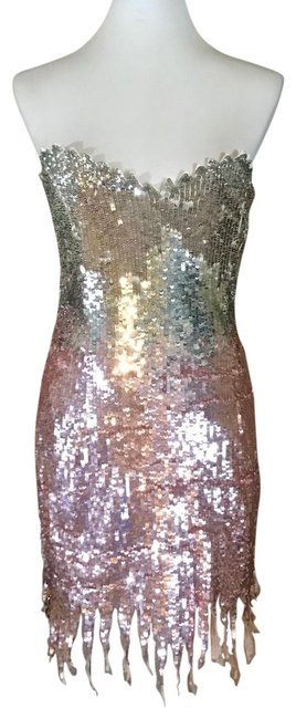 Preload https://img-static.tradesy.com/item/25760758/mac-duggal-couture-pink-sequin-short-cocktail-dress-size-0-xs-0-1-650-650.jpg