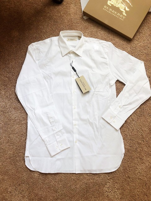 Burberry Button Down Shirt white Image 4