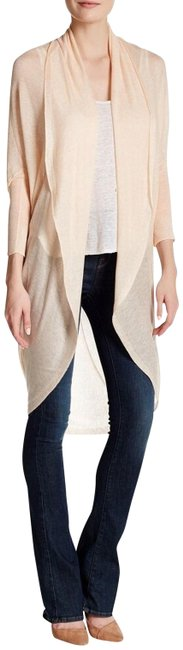 Item - Peach Cocoon Alabaster Long Open Front Sweater Cardigan Size 10 (M)