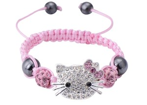 Other 1 pcs /lot Hello Kitty Rope Chain Charm Bracelets