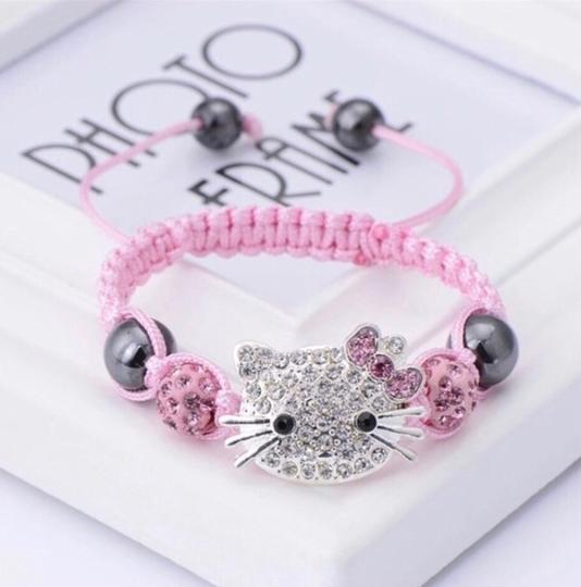 Other 1 pcs /lot Hello Kitty Rope Chain Charm Bracelets Image 2