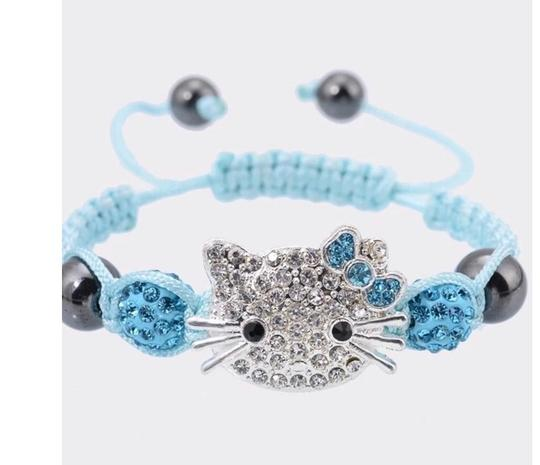 Other 1 pcs /lot Hello Kitty Rope Chain Charm Bracelets Image 1