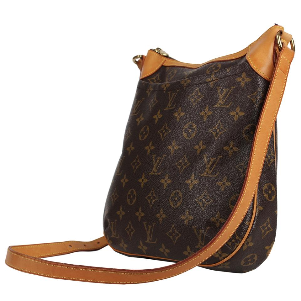 69bca091949 Louis Vuitton Odeon Pm Wow Fantastic Discontinued and Sold Out 7535 Brown  Monogram Canvas Cross Body Bag