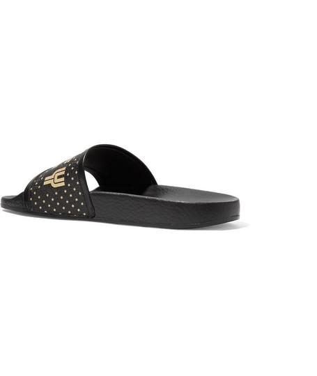 Gucci Black and Gold Flats Image 4