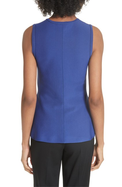 Theory Peplum Stretchy Top Purple/Lilac/Admiral Lustrate Image 2