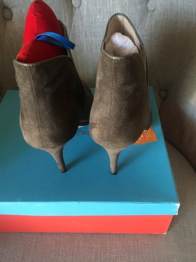 Jean-Michel Cazabat Mink/Taupe/Brown/Grey Boots Image 3