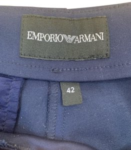 Emporio Armani Straight Pants Navy