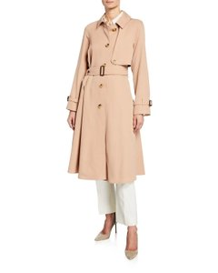 Burberry Gabardine Cinderford Trench Coat