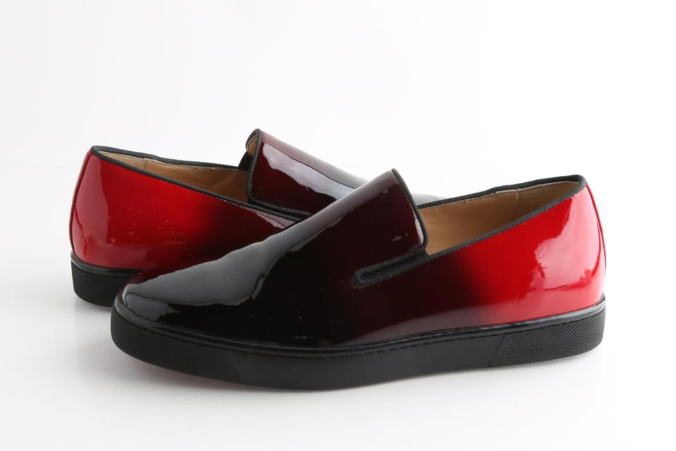 pretty nice 3c817 31345 Christian Louboutin Red Boat Man Flat - Patent Degrade Shoes 21% off retail