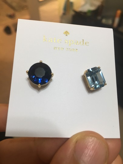 Kate Spade New York Mismatched Faceted Stud Earrings Image 1