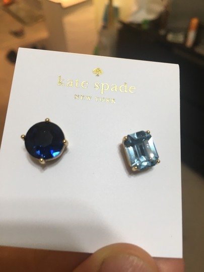Kate Spade New York Mismatched Faceted Stud Earrings Image 2