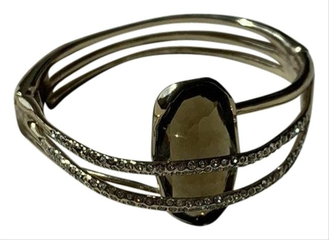 Item - Large Topaz Stone Magnetic Closure Bracelet
