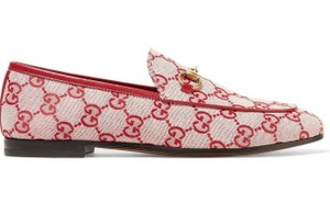 Gucci Princetown Loafer Mule Slide red Flats
