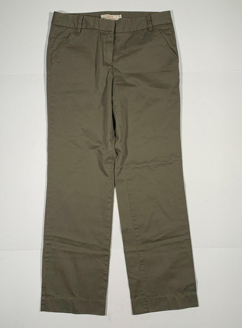 Item - Brown Favorite Chino Pant Fit Broken In Cotton Women 8 Trouser/Wide Leg Jeans Size 32 (8, M)
