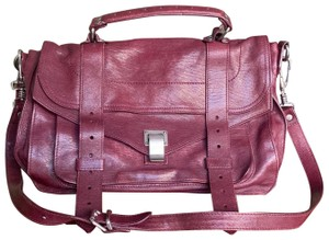 Proenza Schouler Wine Messenger Bag