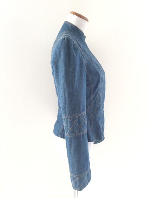 Marc Jacobs Structured Denim Blazer
