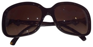 Chanel Chanel brown bow sunglasses