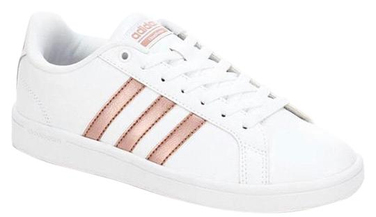 adidas White with Rose Gold Womens