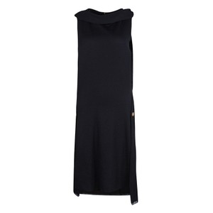 Black Maxi Dress by Chanel Cashmere Sleeveless