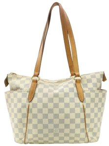 Louis Vuitton All In Neverfull Luco Vavin Tote in White