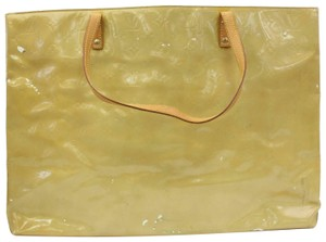 Louis Vuitton Lead Read Leade Neverfull Luco Tote in Yellow-Green
