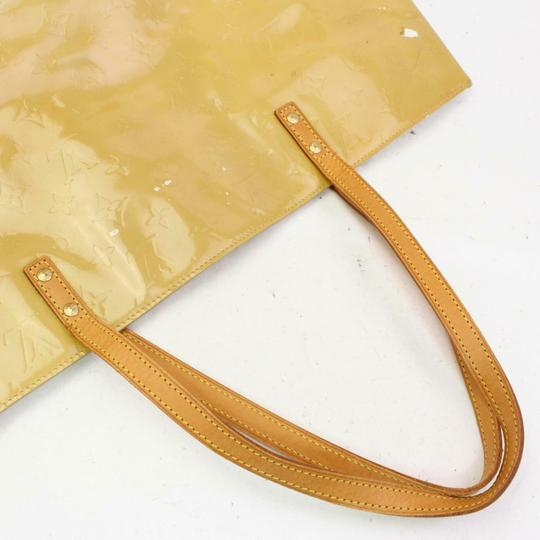 Louis Vuitton Lead Read Leade Neverfull Luco Tote in Yellow-Green Image 1