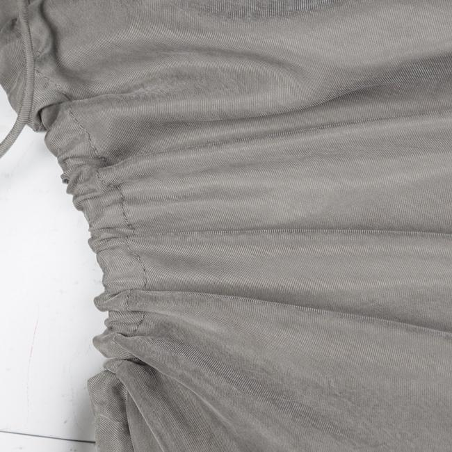 Grey Maxi Dress by Lanvin Detail Draped Cupro Image 4