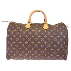 Louis Vuitton Made In France Brown Travel Bag